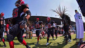 Mexicas durante su encuentro contra Fundidores