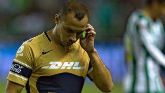 Marcelo Díaz después de un partido de Pumas