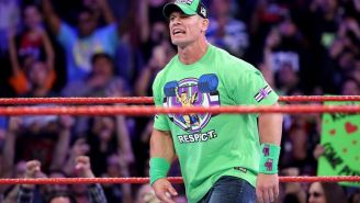 John Cena durante Monday Night RAW
