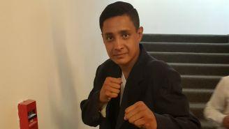 Romero, durante la presentación del libro 'Ring, boxeando para la reinserción