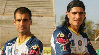 Pep y Abreu en su etapa con Dorados en 2005