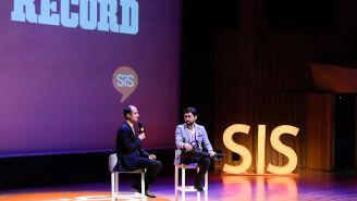 Guillermo Cantú y Carlos Ponce de León durante el SiS 2017