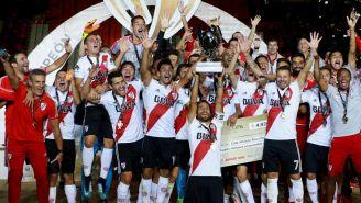 River Plate levanta la Supercopa Argentina