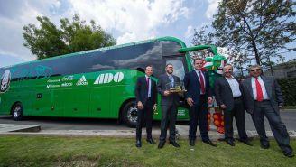 El nuevo autobús de la Selección Mexicana