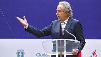Decio de María durante un evento en Guadalajara
