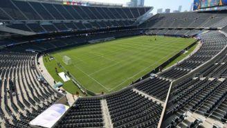 Foto panorámica del Estadio Soldier Field