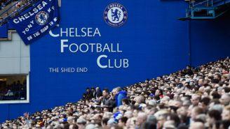 Aficionados del Chelsea durante un partido