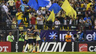 América festeja triunfo contra León en la J11 del C2018