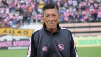 Ricardo Luna, en un juego de Sports Boys de Perú