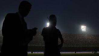 El Estadio Luis 'Pirata' Fuente se quedó sin luz en un sector