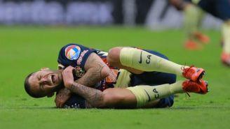 Jérémy Ménez grita tras lesionarse en juego vs Toluca