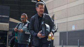 Juan Carlos Osorio, a su llegada a San José, California