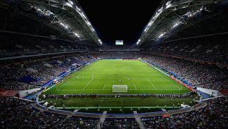 Estadio de Rusia, durante la Copa Confederaciones