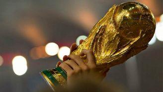 Trofeo de la Copa del Mundo en 2014