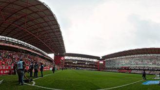 Vista del Estadio Nemesio Díez previo a un encuentro