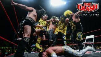 Rebelión Amarilla ataca y deja sin máscara a Carístico en The Crash