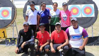 Grupo de tiro con arco que representará a Mexico en Barranquilla 2018