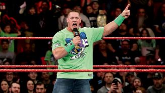 John Cena reta a Undertaker en Monday Night RAW