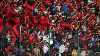 Afición de Veracruz, durante un juego de Liga MX