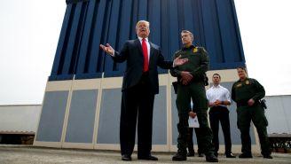 Trump, durante una conferencia con las Guardia Nacional