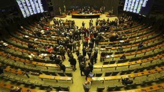 El Congreso de Brasil en una sesión