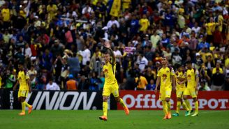 Mateus Uribe festeja gol en el Clásico Joven