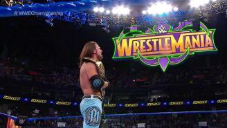 AJ Styles en WrestleMania