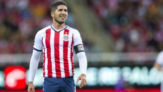 Jair Pereira, en lamento durante un juego con Chivas