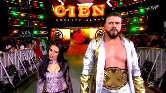 Cien Almas hace su aparición en WWE NXT