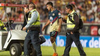 Cecilio Domínguez es atendido por las asistencias médicas