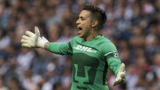 Alfredo Saldívar lanza un grito en el juego contra Rayados