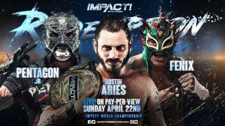 Penta y Fénix lucen en el promo de Impact Wrestling