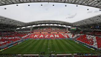 La Kazán Arena durante un juego del equipo local