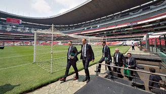 Grupo de FIFA visita el Estadio Azteca