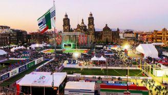 Así luciría el Zócalo para ser sede del Fan Fest en 2026
