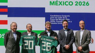 Presentación de la Candidatura conjunta en el Estadio Azteca