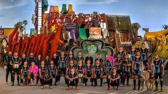 Foto oficial de Las Vegas Lights FC para la temporada 2018