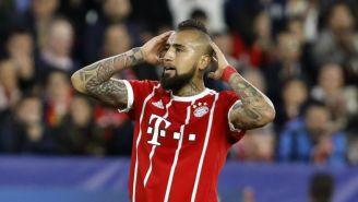 Arturo Vidal, en un juego del Bayern Munich