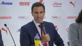 Francisco Gabriel de Anda habla en su presentación con Chivas