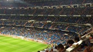 Así lució el Santiago Bernabéu contra Athletic