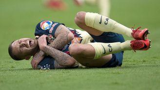 Jérémy Ménez grita de dolor por la lesión