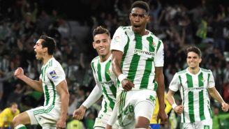 Junior celebra su agónico gol frente a Las Palmas