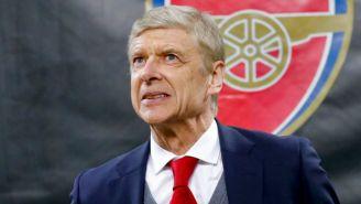 Arsene Wenger, en la llegada al estadio