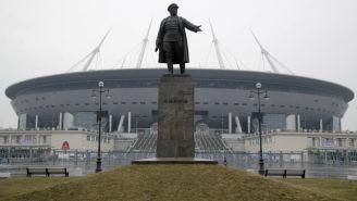 Estadio de San Petesburgo en Rusia