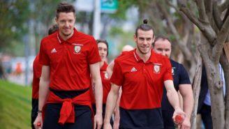 Bale, en una concentración de Gales