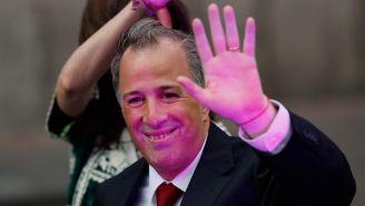 José Antonio Meade a la llegada al debate