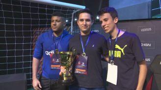 'Rein10' tras coronarse en los clasificatorios del FIFA 18 en Brasil
