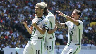 Jugadores de Cafetaleros en festejo de gol en la Final del Ascenso