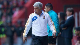 Tuca Ferretti, tras el juego entre Toluca y Trigres en el C2018