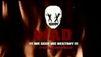Logotipo de MAD en el video de Twitter
